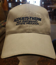 ACOUSTIC-THERM HIGH PERFORMANCE ACOUSTIC INSULATION  CAP/HAT
