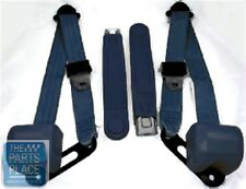 1978-88 Chevrolet El Camino OE Style Retractable Bucket Seat Belts - Navy