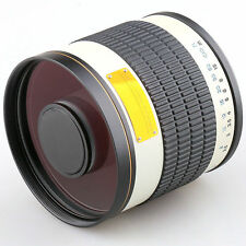 Jintu 500mm Mirror f/6.3 telephoto lens f Nikon D90 D700 D7100 D7200D3200 Camera