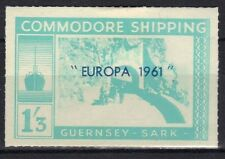 Guernsey - Sark 1961 Commodore Shipping Europa 1/3 mint