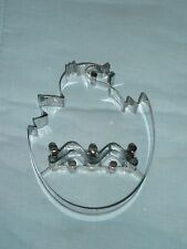 """Williams Sonoma GIANT EASTER CHICKEN EGG Cookie Cutter Mold, 6 1/2"""" X 5"""""""