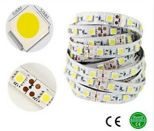 5M 5050 SMD 300 LED Cool White Non-Waterproof Strip Light + 12V5A Power Adapter