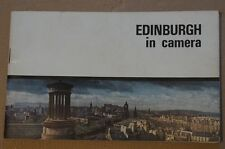 Edinburgh in Camera Unusual Booklet