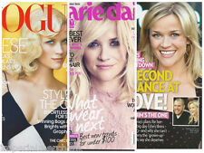 Reese Witherspoon magazines Set of 3 combo pack bundle Vogue Marie Claire People