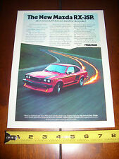 1977 MAZDA RX-3  ***ORIGINAL AD*** THE NEW...