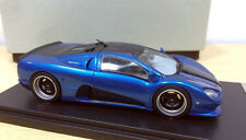 1:43 SSC Ultimate Aero Limited Diecast Model Car Blue color - Handmade