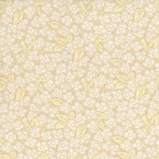 Leaves Floral #2659-1 Sand & Stone Thimbleberries RJR Quilt Fabric by the 1/2yd