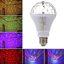 E27 LED Lighting Volle Farbe Rotating Lampe Disco Party Club Effect Licht Stufe