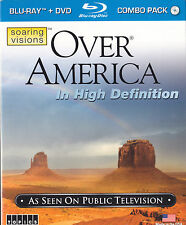 Over America (Blu-ray/DVD, 2010, 2-Disc Set) Brand New with Slipcover