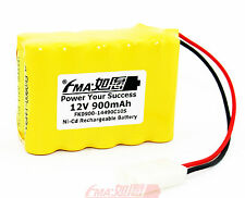 Ni-Cd Nickel Cadmium AA 12V 900mAh Rechargeable Battery for Model toys 10SX US
