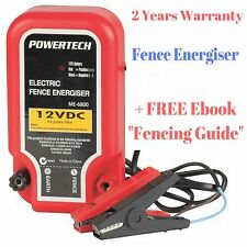 New Electric Fence Energiser Safe Barrier For Animals With Wire Power