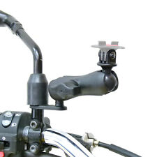 Mirror Camera Mount & Double Socket Standard Arm fits TomTom Bandit GoPro Adapto