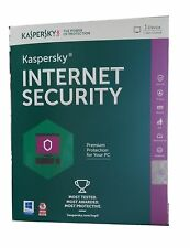 Kaspersky Latest 2015 2016 Internet Security,1 Single User PC 1 Year Windows 10