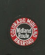 "COLORADO MIDLAND RAILROAD   RAILROAD PATCH 2"" *"