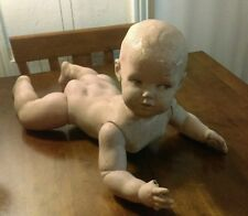 Antique Plaster Baby Mannequin Store Display Super Cool And Awesome!!