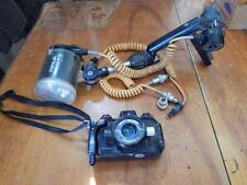 NIKON Nikonos IV-A 35mm underwater camera f/2.5 lens!+ Aqua F-3 Light!