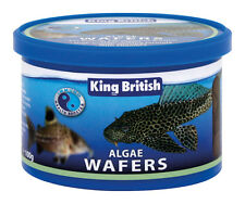 King British Algae Wafers Complete Fish Food 100g - Valentina Valentti UK