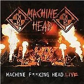 Machine Head - Machine F**king Head Live! (PA/Live Recording) 2 CDS NEW  SEALED