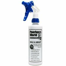 Poorboys World Bold and Bright Tyre Dressing Spray 473ml  FREE UK P&P BRAND NEW