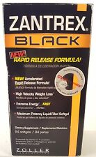 Zantrex Black 84 Softgels Exp 11/2017 Accelerated Rapid Release Formula