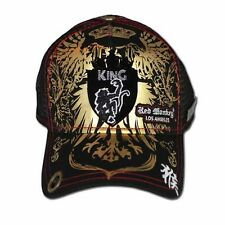Red Monkey Golden KING Shield Trucker Cap Hat Black *Discounted RM1064
