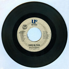 Philippines WILLY GARTE Tibok Ng Puso OPM 45 rpm Record