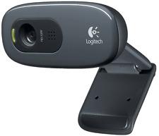 WEBCAM LOGITECH C270 HD - CAMERA WINDOWS 7/8/10 -  ALTA DEFINIZIONE - 720HD