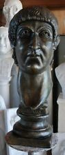 Constantine I the Great Roman Emperor bronze bust sculpture Replica Reproduction