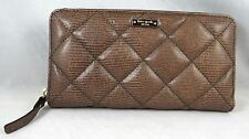 kate spade new york LIBERTY STREET LACEY QUILTED GREY LEATHER WALLET