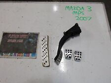 Mazda 3 MPS 2007 2.3 Turbo Aero completo Pedal Completo Set genuino