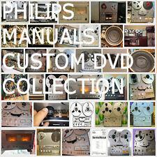 Philips Service Manuals Mega Huge Collection Audio HiFi Repair PDF DVD