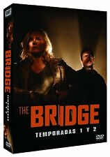 THE BRIDGE Season 1+2  **Dvd R2** Diane Kruger  Complete Series