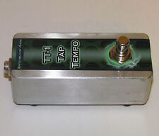 TT-1 Tap Tempo Pedal - Hand-Wired Guitar Bass - N/O Normally Open - delay