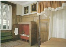 Somerset Postcard - Montacute House - Near Yeovil - Lord Curzon's Bedroom  AB856