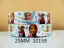 "Disney Frozen Ribbon 1"" Wide NEW UK SELLER"