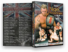 "Official ROH Ring of Honor Nigel McGuinness ""In It to Win It"" DVD 2 Disc Set"