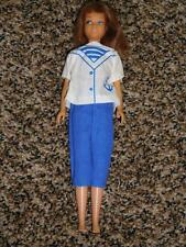 Vintage Auburn Skipper straight leg SL doll in Sailor outfit