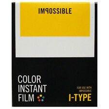 Impossible I-Type Instant Colour Film - for I-1 Camera and Impossible Lab