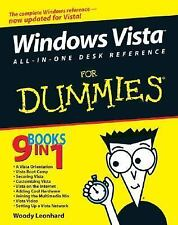 Windows Vista All-in-One Desk Reference for Dummies® by Woody Leonhard (2006,...