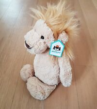 BNWT jellycat medium bashful lion soft toy plush comforter *imperfect tag*