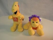 Gund CHATTER BOX DINOS (Set of 2) New with Tags DINOSAURS Hear Them Roar FUN