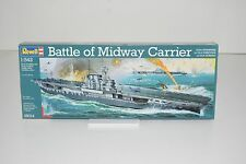 Revell 1:542 Scale Battle of the Midway Aircraft Carrier Plastic Model #05014