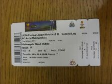 14/03/2013 Ticket: Newcastle United v Anzhi Makhachkala [Europa League] (Folded)