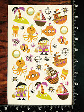 HALLOWEEN STICKERS - BY DARICE - ONE SHEET OF BEAUTIFUL STICKERS - #GDL797