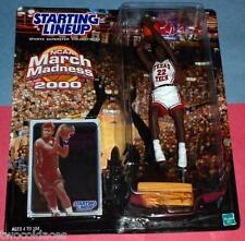 2000 SHERYL SWOOPES #22 Texas Tech University March Madness NCAA Starting Lineup