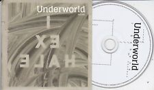 UNDERWORLD  EXHALE  RARE 2 TRACK PROMO CD  [Karl Hyde]