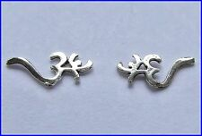 Pair Of Sterling Silver  925  Om  Ear  Studs  !!     Brand  New  !!
