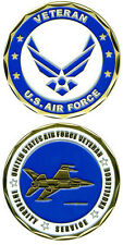 NEW U.S. Air Force Veteran Challenge Coin. 2259