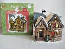 Santa's Workbench Victorian Series Silver Birches Lodge Christmas Village