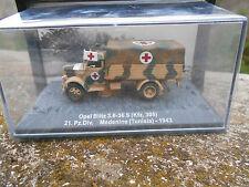 DIE CAST PANZER  OPEL BLITZ 3,6-36S HFZ305 MEDENINE TUNISIA 1943 – 172